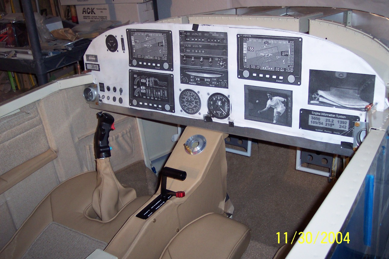 Vans Rv Aircraft Interiors