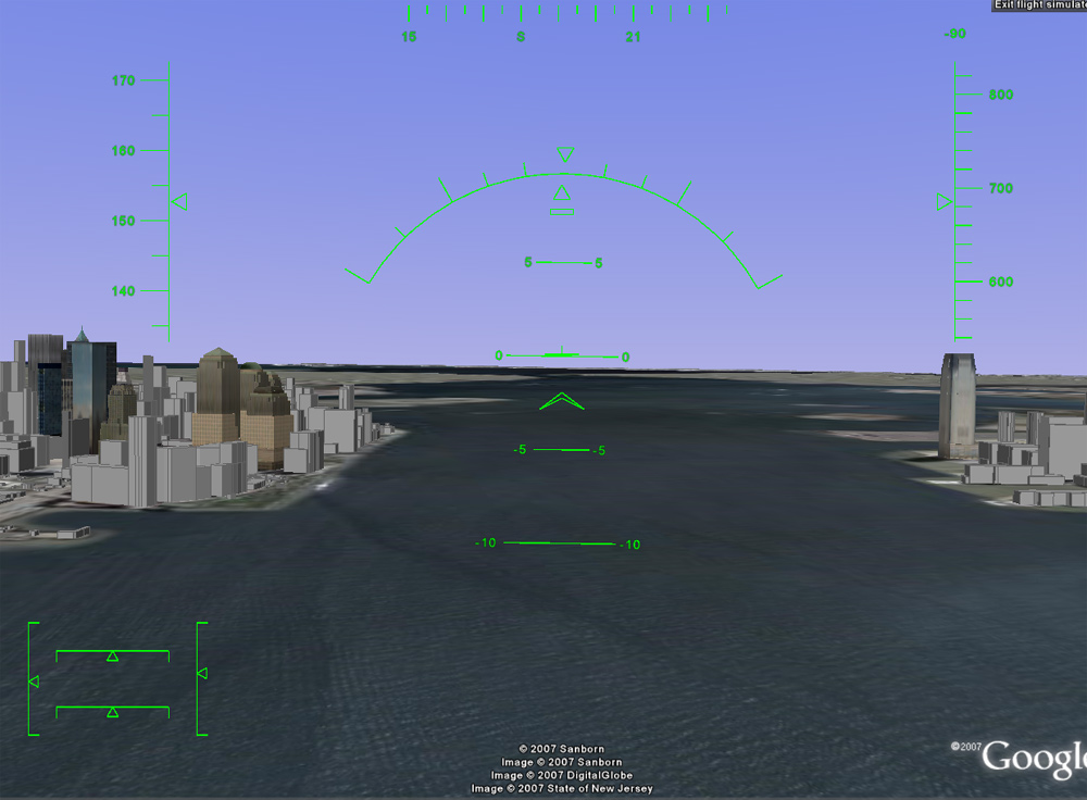 Flight Simulator Keyboard Contro