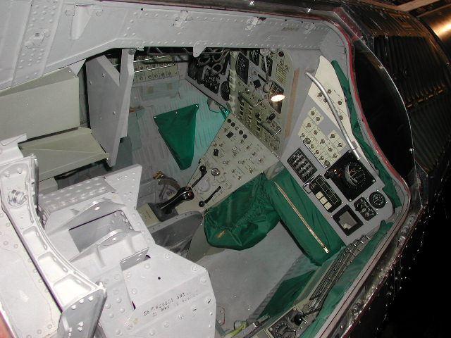 gemini spacecraft cockpit - photo #11
